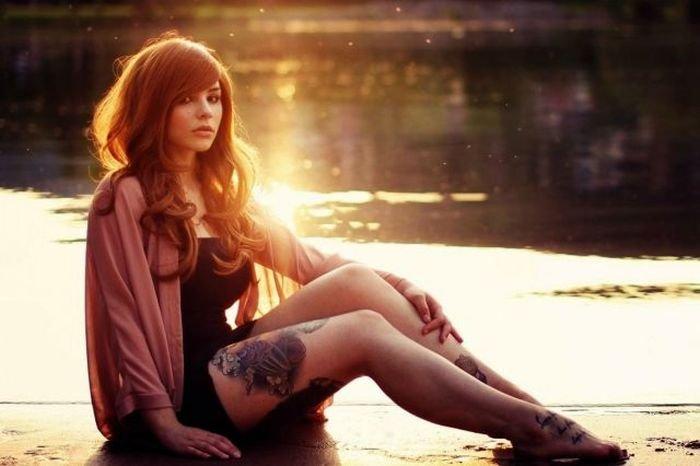 Татуированные девушки (43 фото)