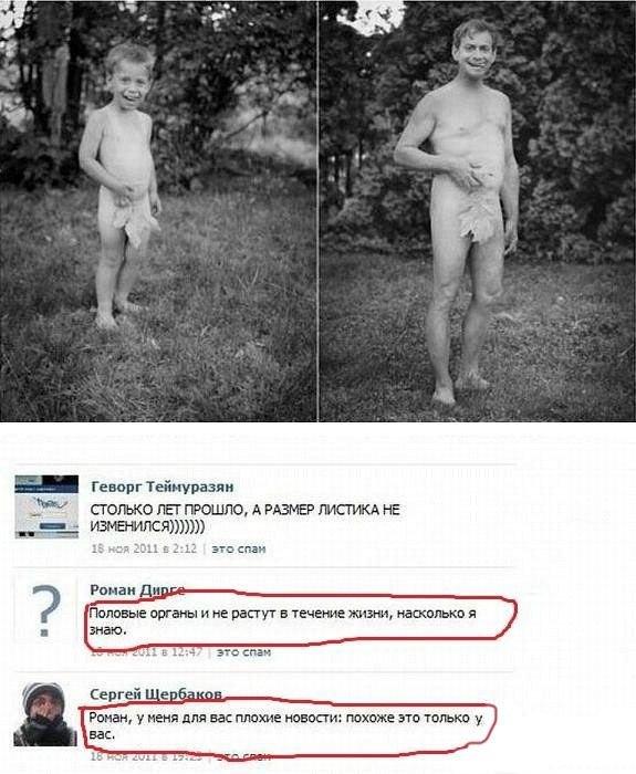 Скриншоты из социальных сетей. Часть 82 (20 фото)