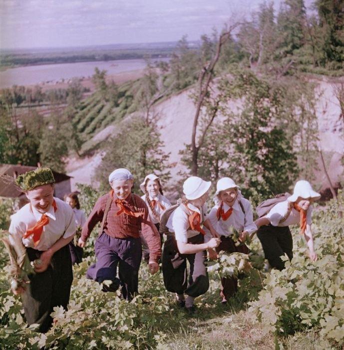 Школьники в СССР (53 фото)