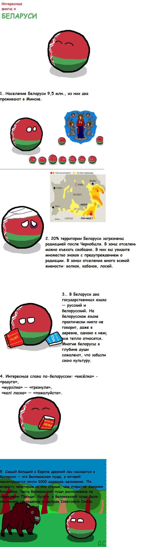 Факты о Белоруссии (8 фото)