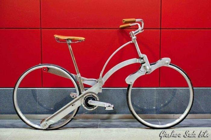 Складной велосипед будущего (21 фото)