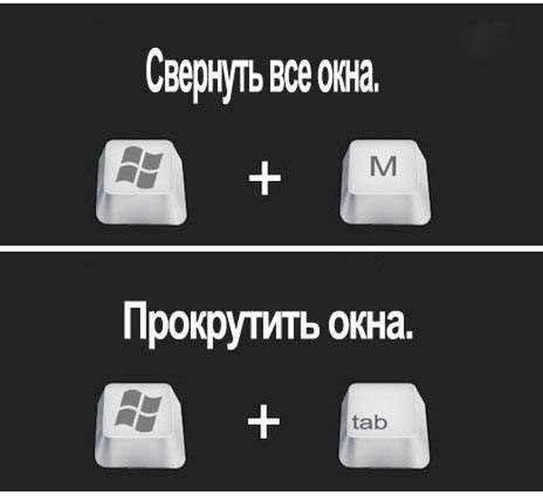 Горячие клавиши Windows (6 фото)