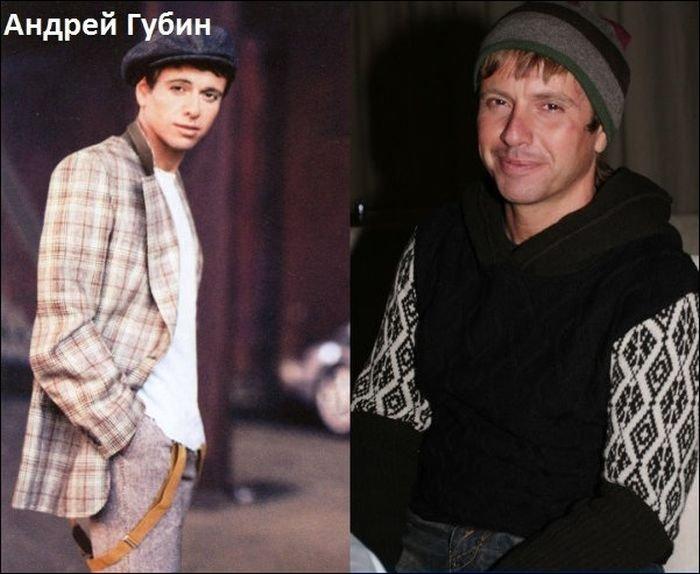 Российские музыканты раньше и сейчас (10 фото)