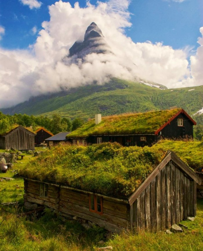 Красоты Норвегии (21 фото)