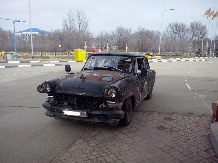 Суровый отечественный автомобиль (5 фото)