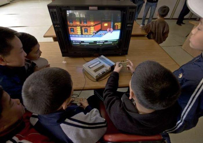 Детский лагерь в Северной Корее (49 фото)