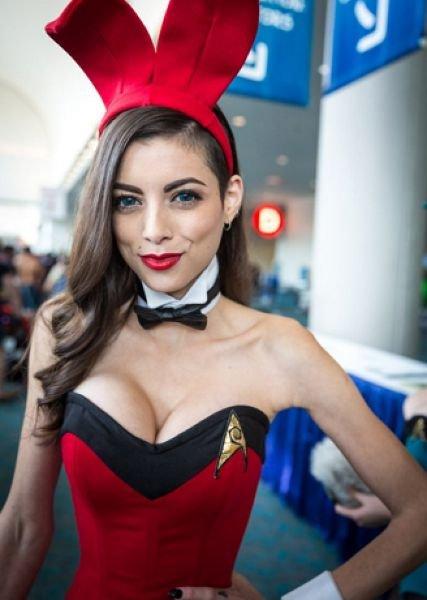 Девушки на Comic Con 2014 (15 фото)