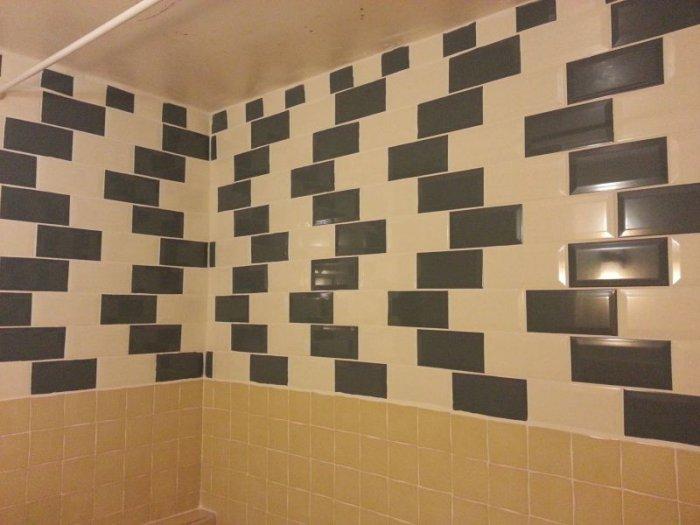 Случайная иллюзия в ванной (4 фото)