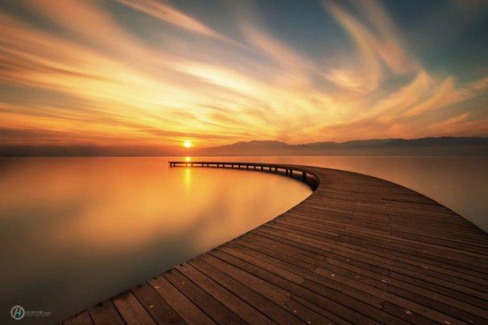 Красивые закаты солнца (25 фото)