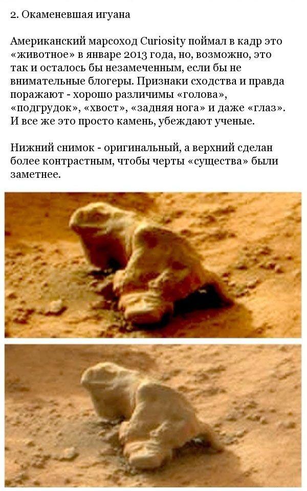Странные предметы на снимках Марса (14 фото)