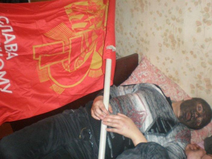 Почему не стоит засыпать пьяным (10 фото)