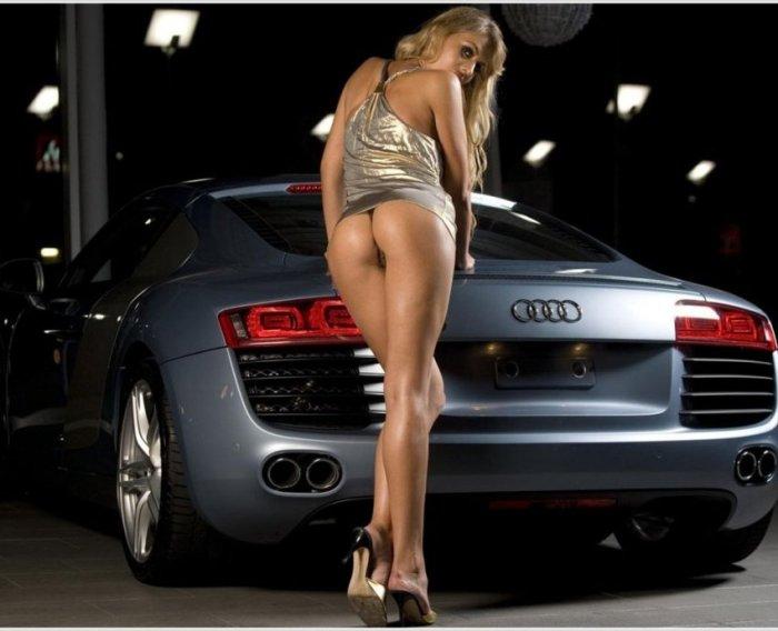 Девушки и автомобили (39 фото)