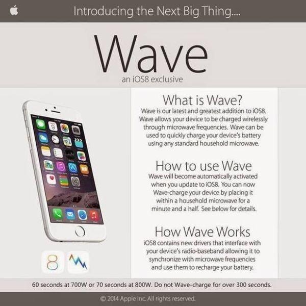 Попытка зарядить iPhone в микроволновке (4 фото)