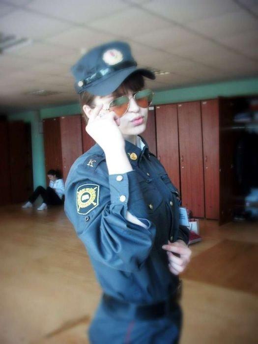 Девушки в полиции России (30 фото)