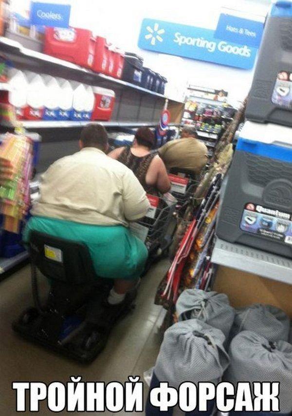 Люди в американских супермаркетах (29 фото)