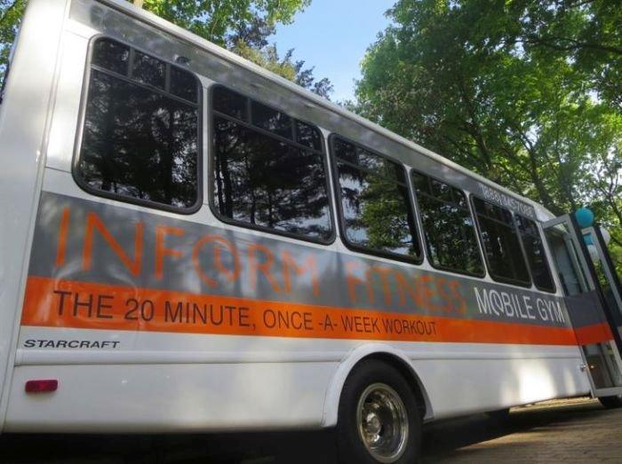 Необычный автобус (9 фото)