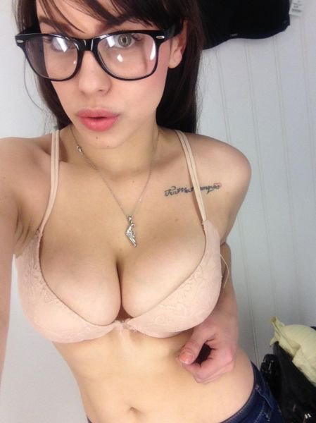 Милашки в очках (45 фото)