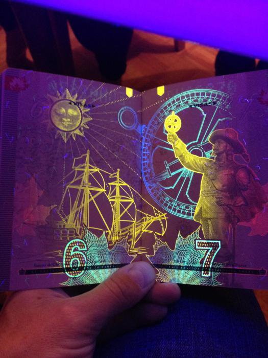 Новый паспорт Канады (18 фото)