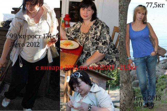 Они смогли похудеть (21 фото)