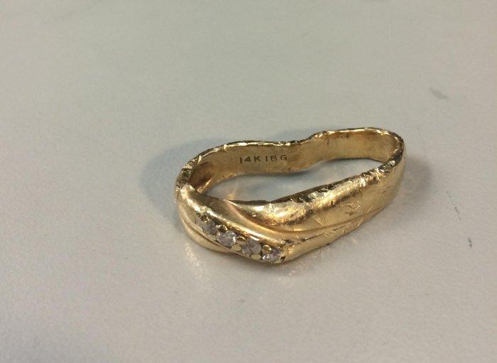 Восстановление убитого кольца (18 фото)