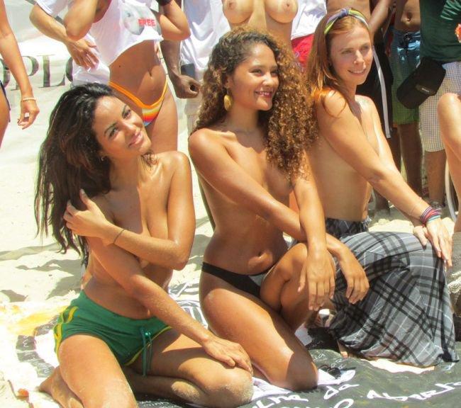 Brazilian topless girls, gretchen rossi naked vibrator