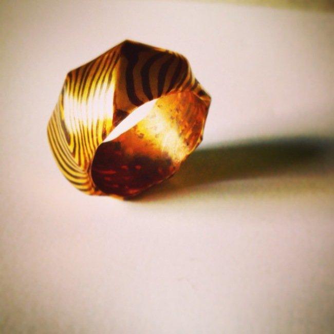 Создание креативного кольца (14 фото)