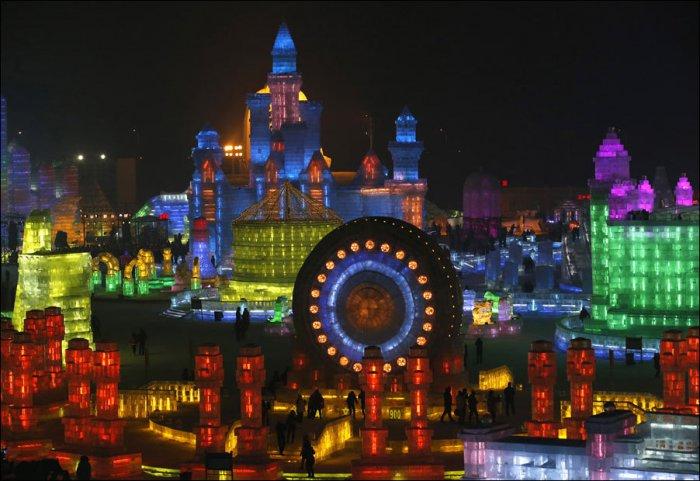 Фестиваль льда в Харбине 2015 (23 фото)