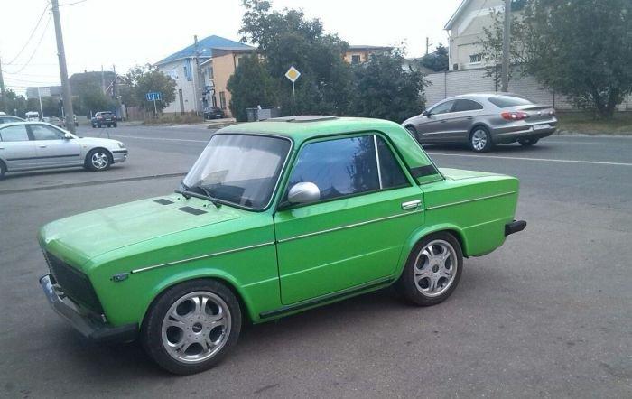 Лада-купе из Краснодара (3 фото)