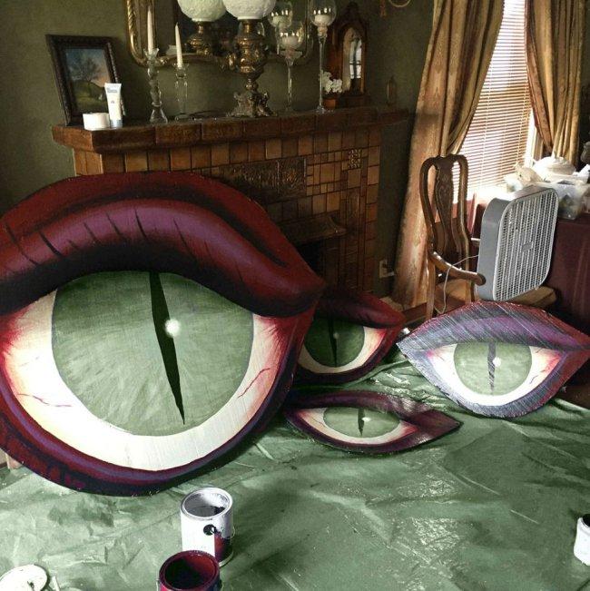 Подготовка дома к к Хэллоуину (10 фото)