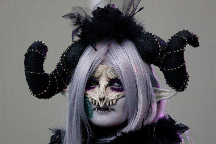 Японские костюмы на Хэллоуин (16 фото)
