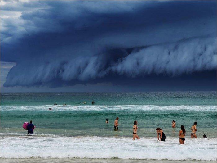 Необычные облака в Австралии (5 фото)