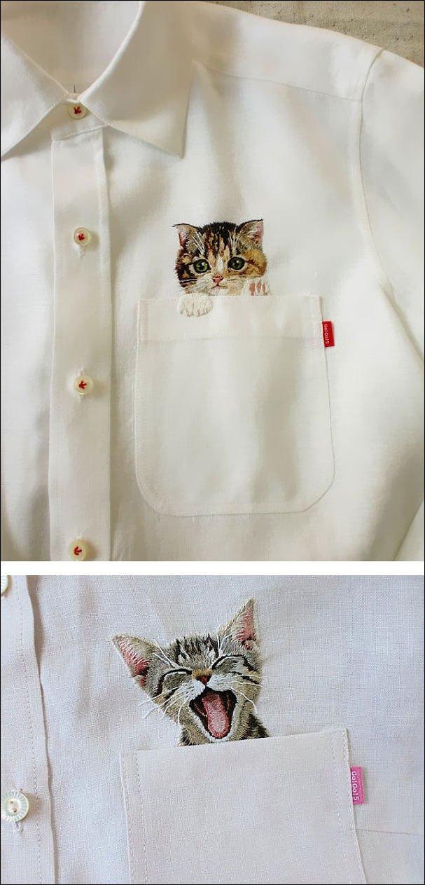 Вещи для любителей кошек (21 фото)