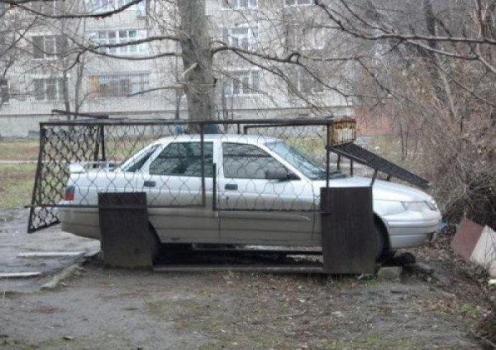 Автомобильные приколы. Часть 193 (30 фото)