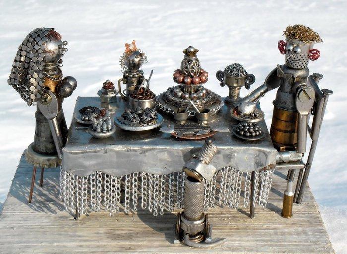 Креативные мини-скульптуры (17 фото)