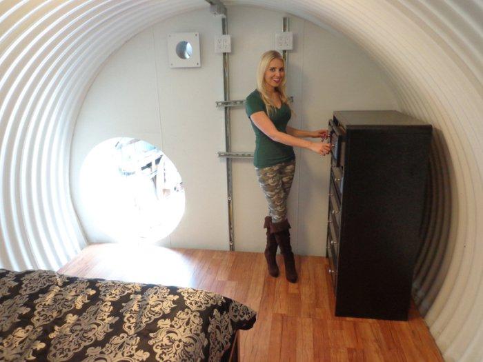 Бункер в собственном дворе (29 фото)