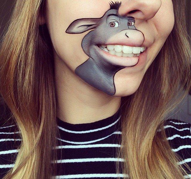 Креативный способ накрасить губы (40 фото)