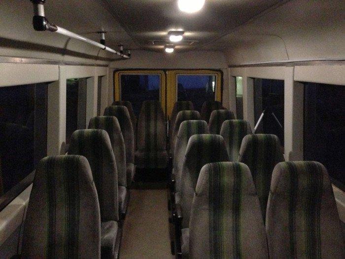 Модернизация маршрутного такси (4 фото)