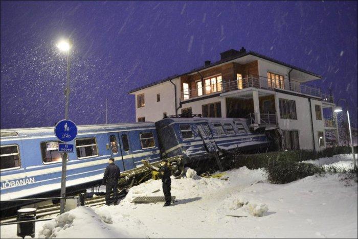 Необычные аварии (47 фото)