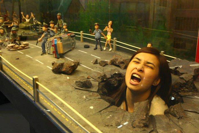 Музей 3D рисунков (17 фото)