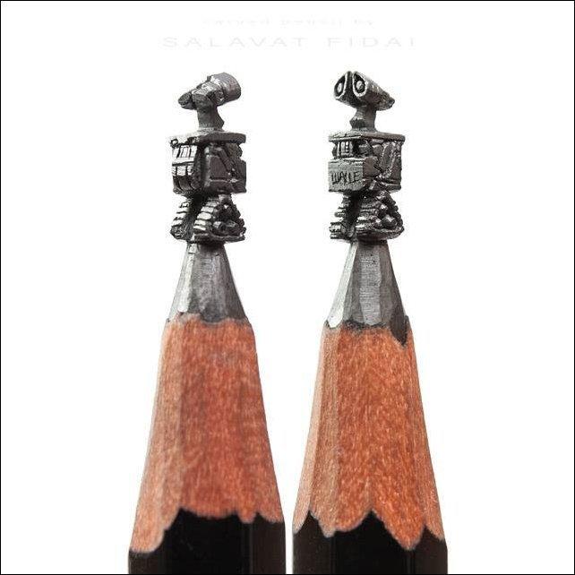 Шедевры на кончике карандаша (12 фото)