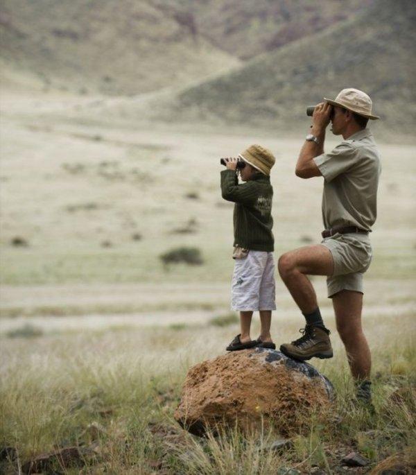 Папаши и их детишки (39 фото)