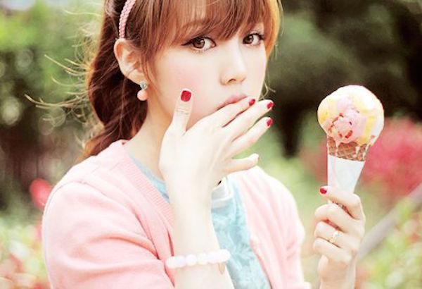 Любительницы мороженого (18 фото)