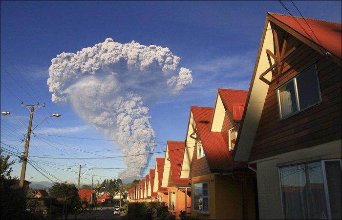 Последствия извержения вулкана Кальбуко (16 фото)