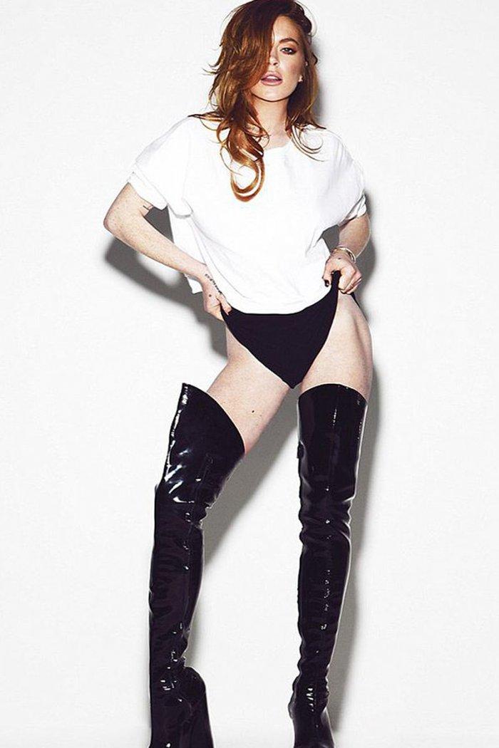 Линдси Лохан (7 фото)