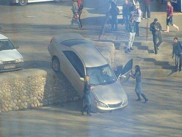 Автомобильные неудачи (25 фото)