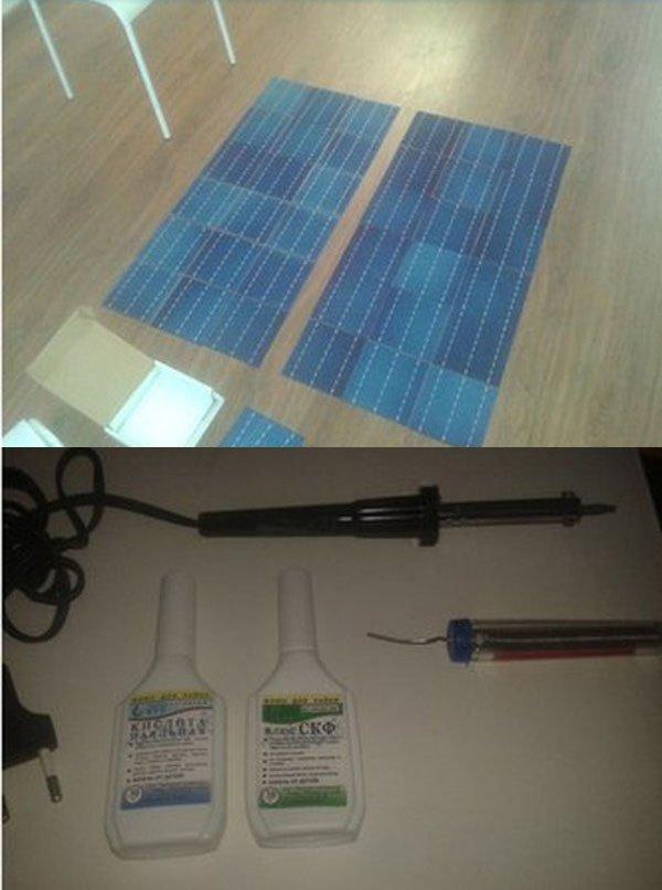 Солнечная батарея своими руками (10 фото)