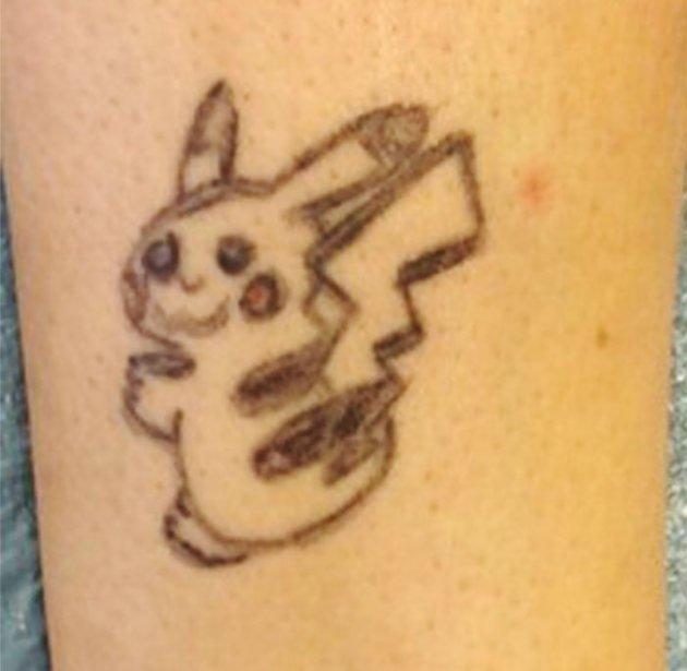 Как исправить неудачную татуировку (4 фото)