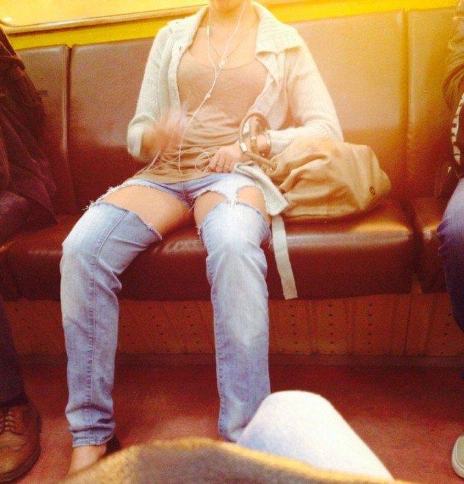 Фрики в метро Санкт-Петербурга (40 фото)