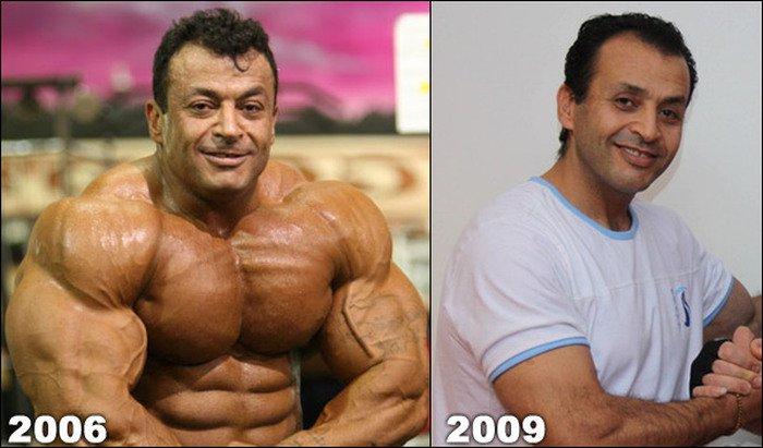 Качки. До и после (9 фото)