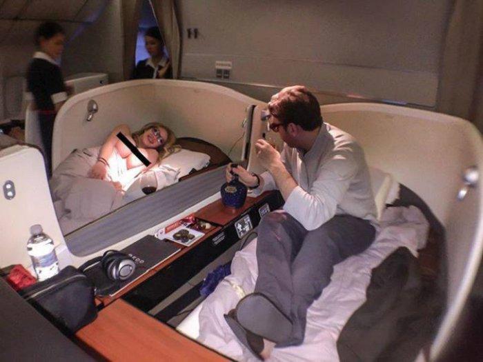 Неправильные пассажиры самолетов (29 фото)